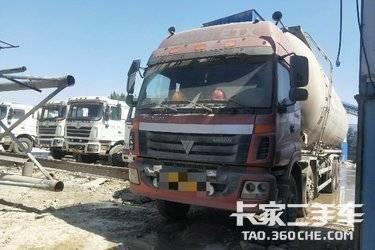 粉粒物料运输车  福田欧曼 340马力
