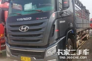 二手载货车 四川现代 410马力图片