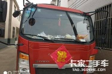 二手载货车 重汽HOWO轻卡 87马力图片