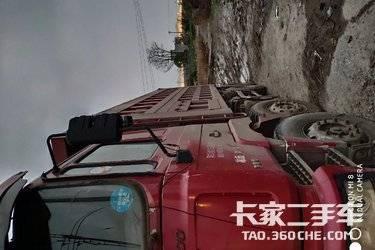自用自卸车  陕汽得龙F3000重卡 380马力一手车自己开