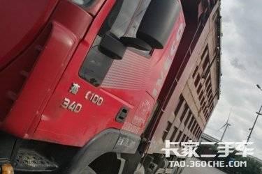二手自卸车 上汽红岩 340马力图片