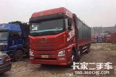 二手载货车 青岛解放 400马力图片
