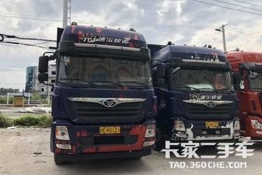 二手载货车 重汽豪曼 280马力图片