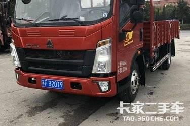 二手载货车 重汽HOWO轻卡 156马力图片