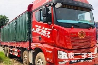二手卡车载货车  10个月解放JH6高栏400潍柴国五