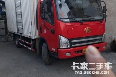 二手载货车 一汽解放轻卡 200马力图片
