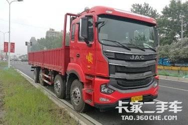 二手载货车 江淮格尔发 320马力图片