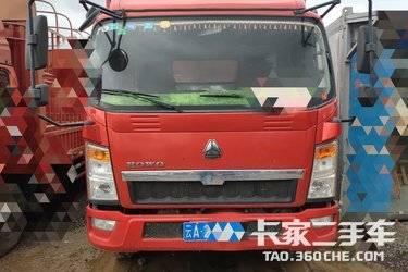二手载货车 重汽HOWO轻卡 170马力图片