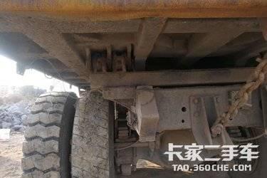 二手卡车无户陕汽德龙F3000后八轮工程自卸车