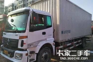 二手载货车 福田欧曼 190马力图片