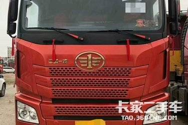 二手卡车牵引车 青岛解放 500马力