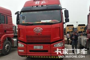 二手卡车二手牵引车 一汽解放J6P牵引车头 国五 寒区版 420马力