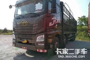 二手载货车 一汽解放 375马力图片