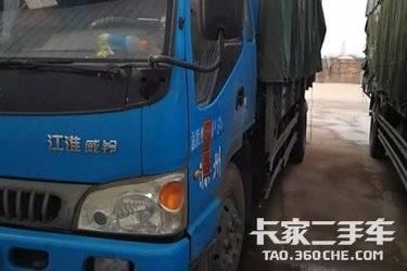 二手载货车 江淮骏铃 130马力图片