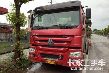 二手牵引车 中国重汽 310马力图片