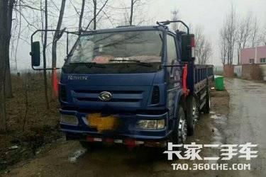 二手载货车 福田瑞沃 130马力图片
