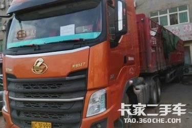 二手卡车牵引车  东风柳汽 500马力