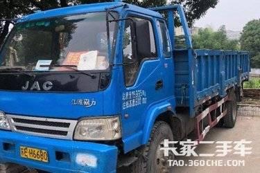 二手自卸车 江淮工程车 180马力图片