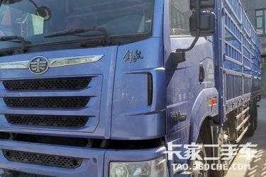 二手载货车 青岛解放 320马力图片