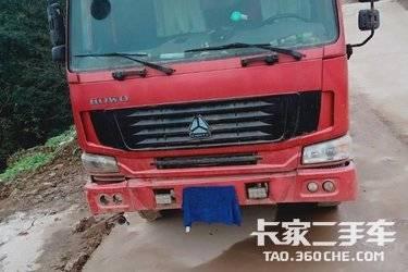 二手载货车 重汽豪沃(HOWO) 310马力图片