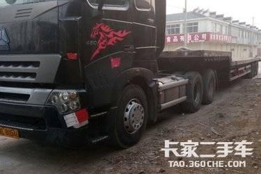 二手牵引车 中国重汽 420马力图片