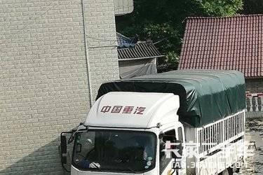 二手载货车 重汽豪曼 110马力图片