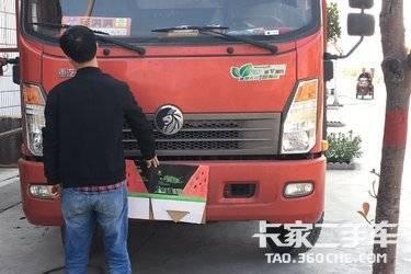 二手载货车 重汽王牌 155马力图片