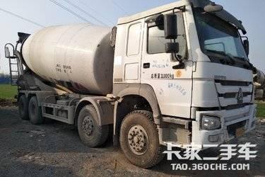 二手搅拌车 中国重汽 380马力图片