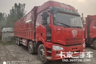 二手卡车二手载货车 一汽束缚J6P 350马力国五