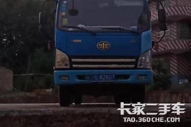二手载货车 青岛解放 128马力图片