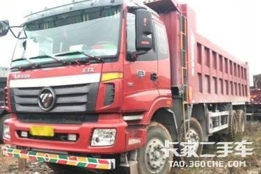 二手卡车出售5个月的  福田欧曼 340马力国五可分期