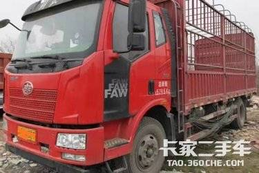 二手卡车载货车  一汽解放 160马力