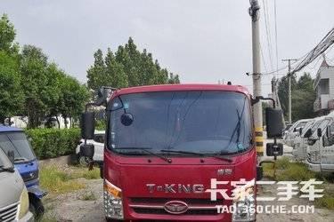 二手载货车 唐骏汽车 160马力图片