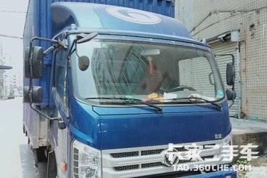 二手载货车 福田伽途 110马力图片