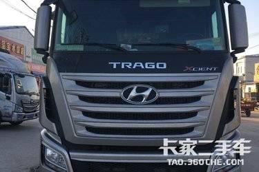 二手载货车 四川现代 360马力图片