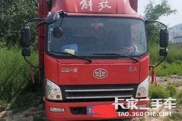 二手载货车 一汽解放轻卡 156马力图片