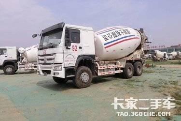 二手搅拌车 中国重汽 340马力图片