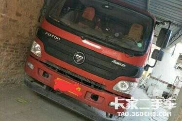 二手载货车 福田欧马可 154马力图片