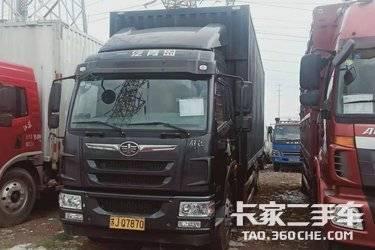 二手载货车 青岛解放 180马力图片