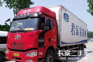 二手卡车载货车  一汽解放 280马力