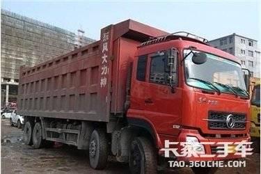 二手卡车自卸车  东风商用车 340马力