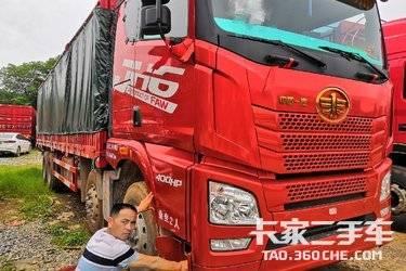 二手载货车 一汽解放 400马力图片