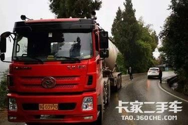 二手卡车牵引车  三环十通 320马力