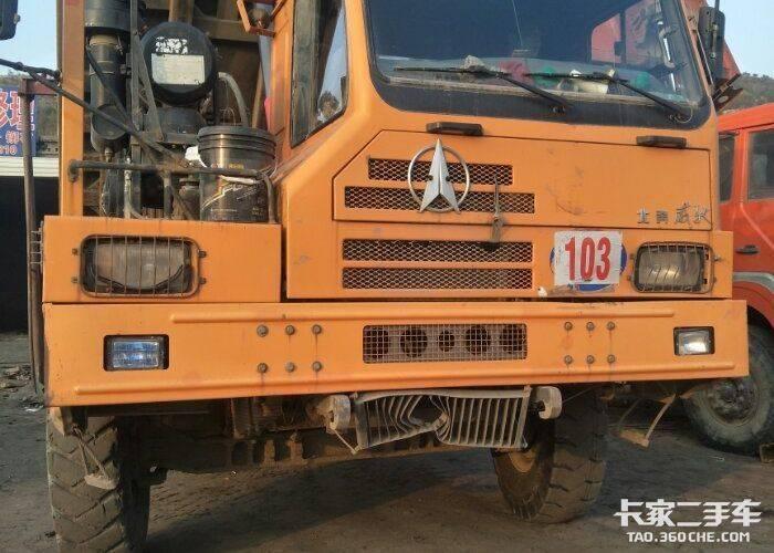 北奔重卡 375马力 自卸车