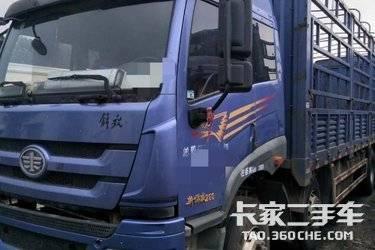 二手载货车 青岛解放 260马力图片