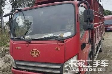 二手载货车 一汽解放 131马力图片