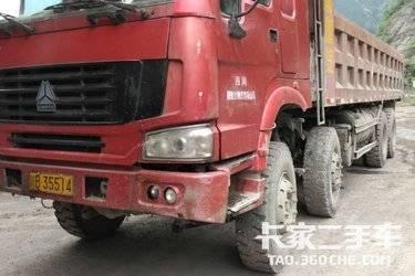 二手载货车 重汽豪沃(HOWO) 380马力图片