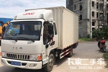 二手载货车 江淮骏铃 143马力图片