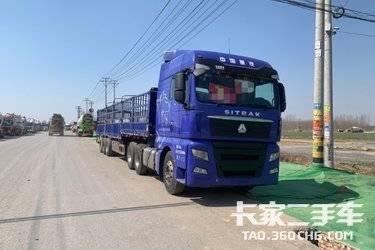 二手卡车二手 牵引车  重汽汕德卡C7H 440马力