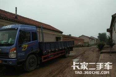 二手载货车 青岛解放 160马力图片